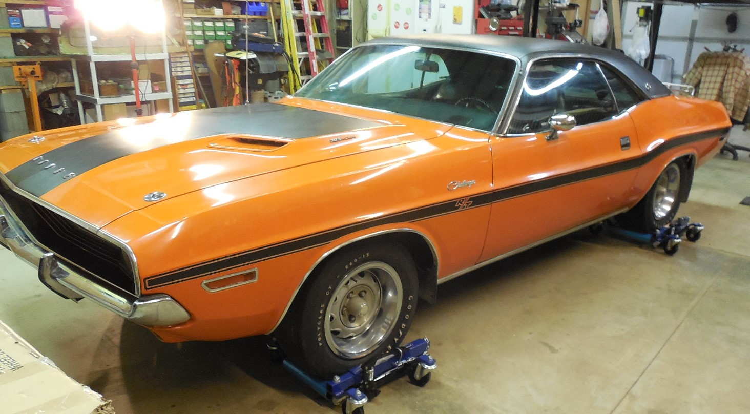 24-140417222841 in 1970 Cuda Project - not mine - Montreal Canada.  in Cars For Sale or Wanted