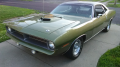 My # matching '70 'Cuda 340/ auto, FF4 Lime Metallic.