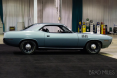 Winchester Gray 1971 Hemi 'Cuda 4-speed Version