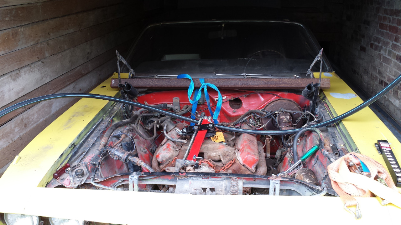 proxy in 71 'Cuda restoration in Your Restoration project (ROSEVILLE MOPARTS)