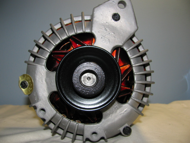 Jim Ridge Starter Restoration (Dixie Restorations) in Engine